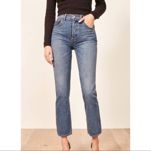 Reformation Cynthia High Relaxed Jeans San Lucas